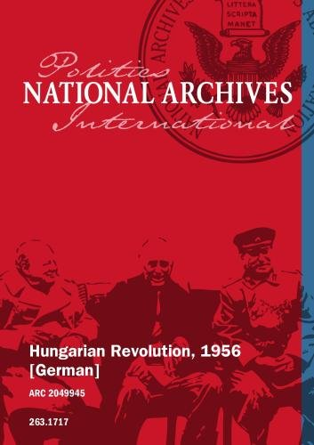 Hungarian Revolution, 1956 [German]
