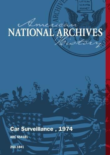 Car Surveillance , 1974
