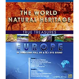 True Treasures/World Natural Heritage 1: Europe [Blu-ray]