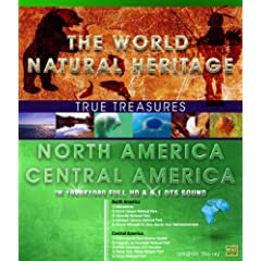 True Treasures/World Natural Heritage 2: North America/Central America [Blu-ray]