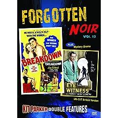 Forgotten Noir Double Feature Vol 13: Breakdown & Eye Witness (aka: Your Witness)