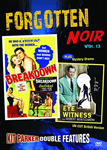 Forgotten Noir Double Feature Vol 13: Breakdown & Eye Witness (aka: Your Witness)