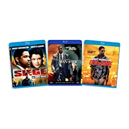 The Denzel Washington Blu-ray Collection (Man on Fire / The Siege / Out of Time) [Blu-ray]