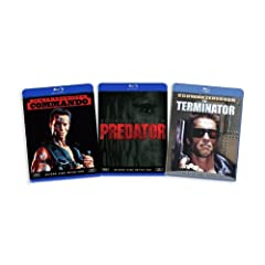 The Arnold Schwarzenegger Blu-ray Collection (Commando / Predator / The Terminator) [Blu-ray]