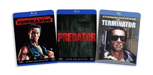 The Arnold Schwarzenegger Blu-ray Collection (Commando / Predator / The Terminator) [Blu-ray]