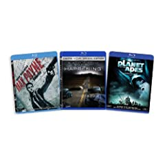 The Mark Wahlberg Blu-ray Collection (Max Payne / The Happening / Planet of the Apes (2001)) [Blu-ray]