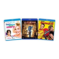 The Ben Stiller Blu-ray Collection (There's Something About Mary / Night at the Museum / Dodgeball) [Blu-ray]