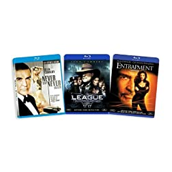 The Sean Connery Blu-ray Collection (Never Say Never Again / League of Extraordinary Gentlemen / Entrapment) [Blu-ray]