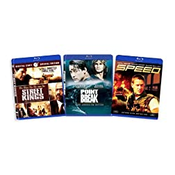 The Keanu Reeves Blu-ray Collection (Street Kings / Point Break / Speed) [Blu-ray]