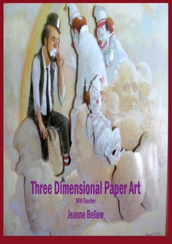 How to create a 3 dimensional paper tole