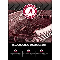 Alabama SEC Classics 3-DVD Set
