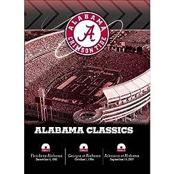 Alabama SEC Classics 3-DVD Set