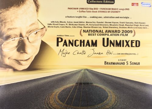 Pancham Unmixed ... Mujhe CHalte Jaana Hai (2 DVD + Coffee Table Book)