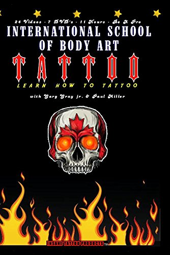 Learn How To Tattoo DVD Video Collection