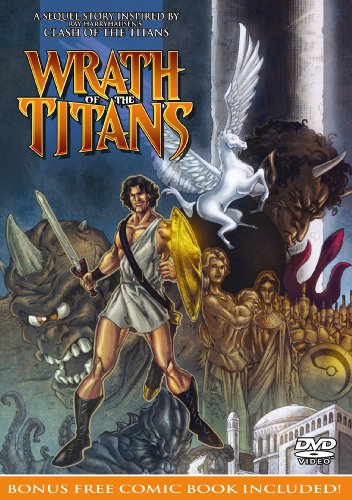 Wrath of the Titans DVD (with bonus comic book)