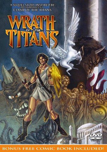 Wrath of the Titans DVD (with bonus comic book)