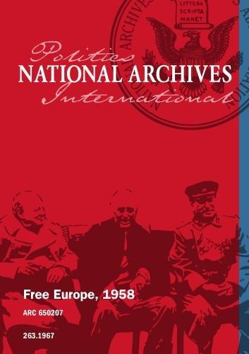 Free Europe, 1958