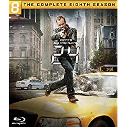 24: Season Eight - The Complete Final Season [Blu-ray]