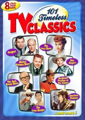 101 Timeless TV Classics - 8 DVD Set! Over 40 Hours!