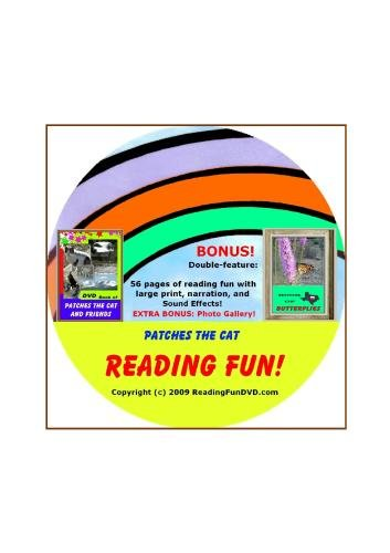 Patches The Cat Reading Fun