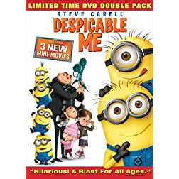Despicable Me (Minion Madness DVD Double Pack + Digital Copy)