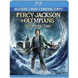 Percy Jackson & the Olympians: The Lightning Thief [Blu-ray]
