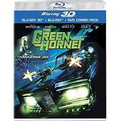 The Green Hornet (Three-Disc Combo: Blu-ray 3D / Blu-ray / DVD)