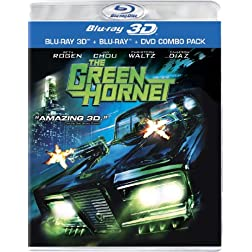 The Green Hornet (Three-Disc Combo: Blu-ray 3D / Blu-ray / DVD)