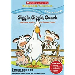 Giggle Giggle Quack... and More Stories By Doreen Cronin (Scholastic Storybook Treasures)