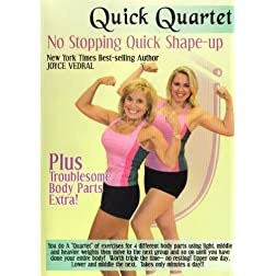 Joyce Vedral: Quick Quartet- No Stopping Quick Shape-Up Workout