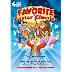 Favorite Easter Classics! 4 DVDs!
