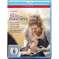 Verdi: Un Ballo in Maschera [Blu-ray]