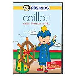 Caillou: Caillou Pretends to be
