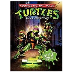 Teenage Mutant Ninja Turtles Film Collection (Teenage Mutant Ninja Turtles / Secret of the Ooze / Turtles in Time / TMNT)