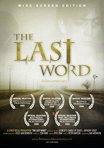 The Last Word: A Documentary