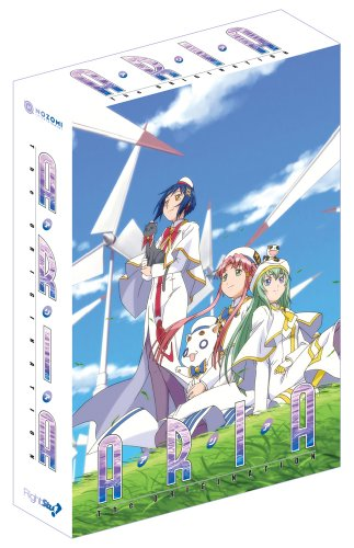 Aria The Origination Dvd Collection (Tv Season 3 With The Ova Arietta)