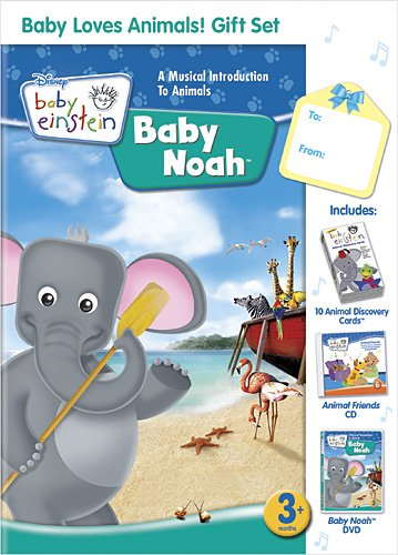 Baby Einstein: Baby Loves Animals Gift Set W/CD