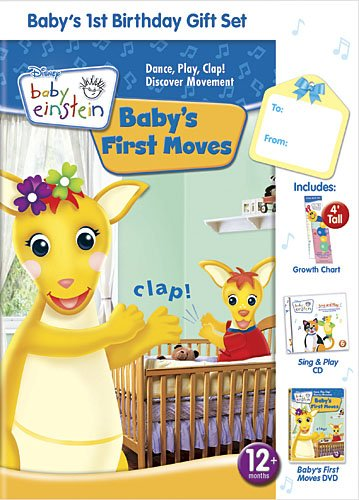 Baby Einstein: Baby's First Birthday Gift Set W Book