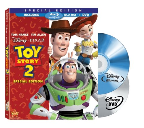 Toy Story 2 (Two-Disc Special Edition Blu-ray/DVD Combo w/ Blu-ray Packaging)