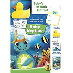 Baby Einstein: Baby's First Bath Gift Set w/ Book and Toy