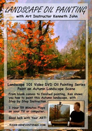 Landscape Oil Painting 101 - Paint Autumn Color