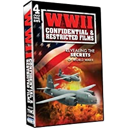 WWII Confidential and Restricted Films - 4 DVD Set!
