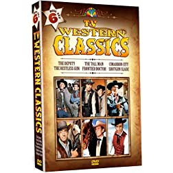 TV Western Classics - 6 DVD Set - Over 14 Hours!