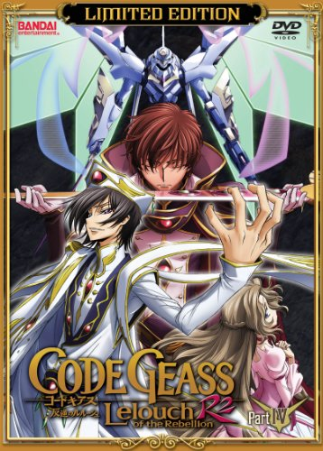 Code Geass Leouch of the Rebellion: R2, Part 4 (Limited Edition)