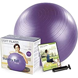 Stability Ball Kit 75cm (Purple)