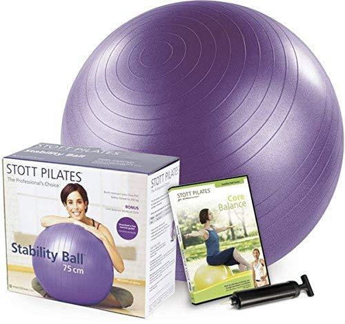 Stability Ball Kit 75cm (Purple)