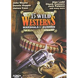 15 Wild Westerns: Marshals (2pc)