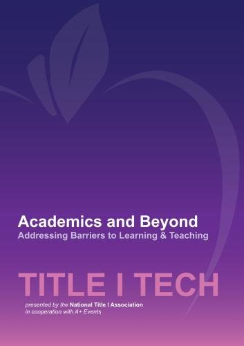 Academics and Beyond - Addressing Barriers to Learning & Teaching