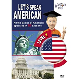 Let's Speak American with Victor: Levels 1 & 2