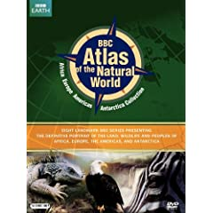 BBC Atlas of the Natural World: Africa and Europe/Western Hemisphere and Antartica